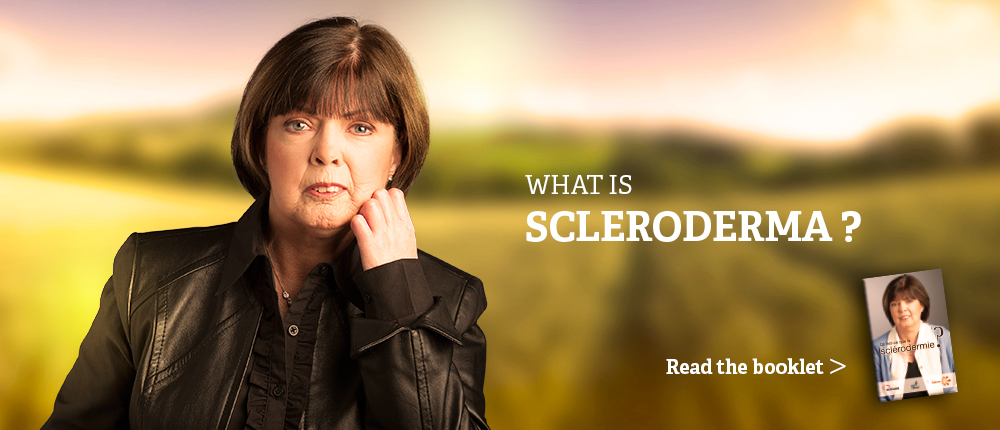 read the booklet what is scleroderma